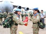 UNDP pledges to help Vietnam in peacekeeping operations