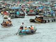 Floating markets among best photogenic destination