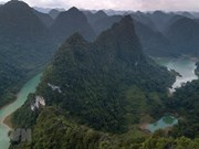 Non Nuoc Cao Bang receives UNESCO global geopark status