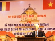 Romania's National Day marked in Hanoi