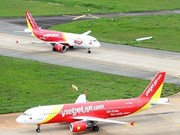Many Vietjet flights affected by storm Usagi