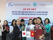 Japan helps to promote financial services for Vietnamese women