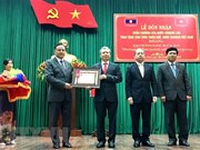 Thua Thien-Hue receives Laos' Labour Order