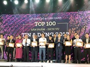 Top 100 products, services chosen by consumers awarded