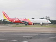 Vietjet flight encounters landing problem at Buon Ma Thuot airport