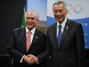 Singapore, Brazil agree to expand trade relations
