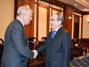 Duke of York welcomed in Ho Chi Minh City