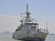 Thai naval vessels dock in Phu Quoc