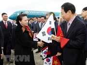 NA Chairwoman begins official visit to RoK