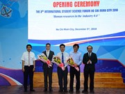 International student science forum opens in HCM City