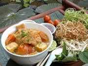 """Traveller"" names three Vietnamese treats among top dishes"