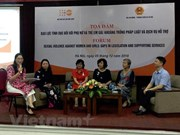 Workshop talks experiences in preventing sexual abuse against women