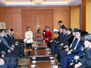 NA Chairwoman receives representatives of Ly families in RoK
