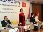 NA Chairwoman meets with contributors to Vietnam-RoK friendship