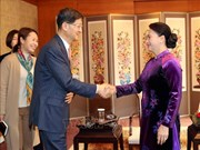 NA Chairwoman hosts leaders of several RoK economic groups