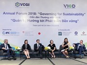 Forum urges companies to govern for sustainability
