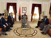 Senior Party official visits Angola