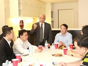 VFF officials listen to opinions of Vietnamese expats in Australia