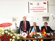 Czech-Vietnam Friendship Association holds 22nd congress