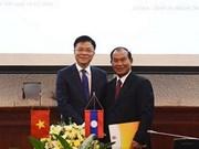 Vietnam, Laos boost judicial cooperation