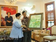 Vietnamese Ambassador meets leader of Indonesian party