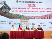 Dak Nong to host first Vietnam brocade festival