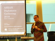 Indonesia updates diplomats of ASEAN progress
