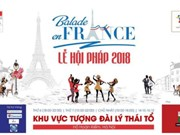 Balade en France 2018 opens in Hanoi