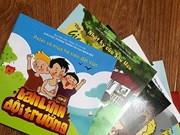 Comics hoped to raise children's awareness of UXO accidents