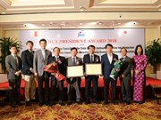 Vietnamese agencies honoured with  JICA President Award