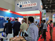 Vietnamese group participates in Middle East's largest construction expo