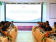 Kon Tum introduces investment opportunities to RoK firms