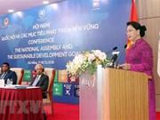 Vietnamese NA working for sustainable development: Chairwoman