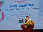 Korean-language programme comes to Vietnamese audience