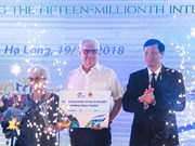 Quang Ninh hosts 15 millionth foreign tourist to Vietnam