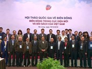 Third national workshop on East Sea held in Quang Ninh