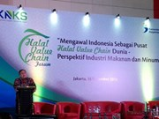 Indonesia promotes halal food, beverage exports