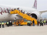 Da Nang welcomes Qatar Airways' first flight from Doha