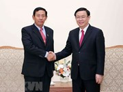 Myanmar Party contributes to enhancing cooperation with Vietnam