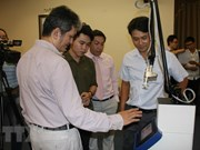 Vietnamese engineers make Fractional CO2 Laser surgical equipment