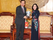 CPJ delegation visit Ninh Binh province