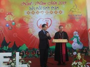 Christmas greetings sent to Hue Archdiocese