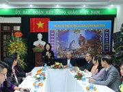Vice President visits Committee for Solidarity of Vietnamese Catholics