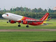Vietjet Air starts selling tickets on HCM City-Van Don route