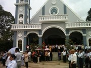Catholics in Tien Giang contribute to national development