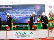 Quang Ninh: Construction of Song Khoai industrial park begins