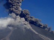 Philippines' most active volcano spews ash anew