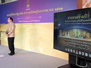 Buddha relics, statues from 13 countries to be brought to Bangkok