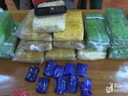 Border guard forces arrest Lao drug smuggler in Nghe An