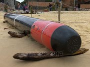 Object found offshore Phu Yen identified as training torpedo